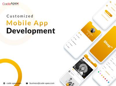 Mobile app development poster