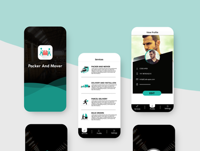 Packer and mover app design