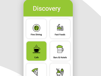 Food Delivery App icon logo mobile app design ui ux app design app branding illustrator photoshop