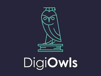 Digiowls Logo Design Joao Ferreira brand logo modern logo design branding