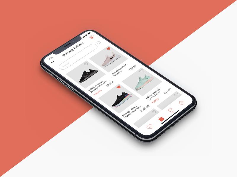 fitlab Product Page uilondon uidesigner uipractice retail sports app app design ux uidesign