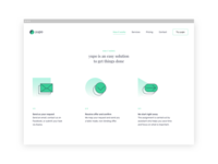 Yupo — Virtual Personal Assistant. Desktop View