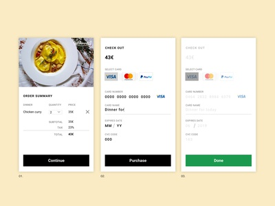 Checkout Card _ DailyUI _ 02