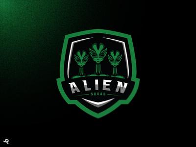 Logo Alien/ Illustration/ Mascot