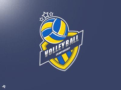 Logo Volleyball/ Sports