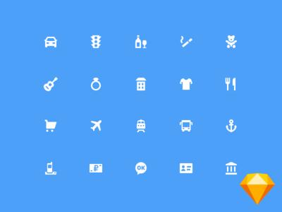 Freebie - 75 MCC icons