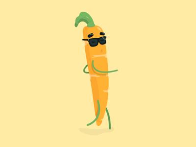 Carrot sun glasses character illustration vienna polarfux healthy vegetable characterdesign character vector illustration cool carrot vector illustration
