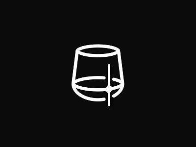 The Perfect Drink beverages app vector brand logo branding design