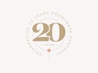 20 Years Promenade Badge