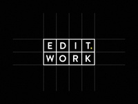 EDIT. WORK Logo Review