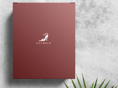 Cat Walk's Shoes Box Design ( Red Version )