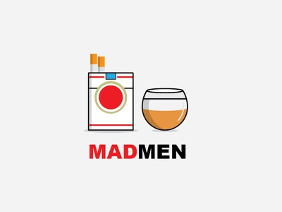 MADMEN cigarettes lucky strike whiskey don draper tv amc mad men