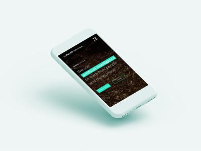 Numerico - artificial intelligence website web ux design ui