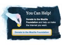 Mozilla Foundation Donation Banner