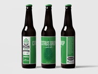 Citrus Drop Beer Labels / Packaging
