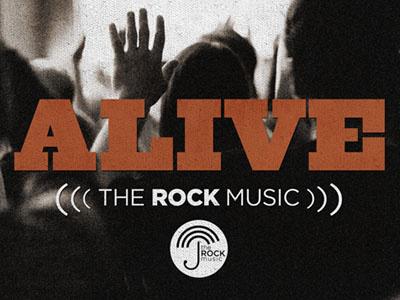 Alive Album artwork alive record ziggurat gotham red slab serif music