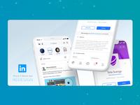 Redesign - LinkedIn - Mobile APP iOS