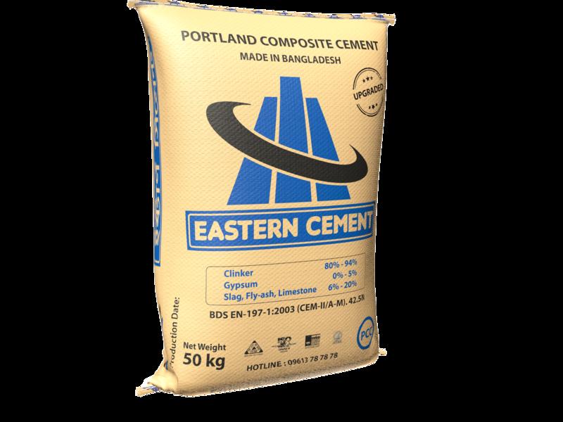 Eastern Cement | PCC Bag | 3D 3d illustration identity illustrator design branding eastern cement