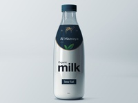 Al Mazraya Farms Ltd. | Glass Milk Bottle