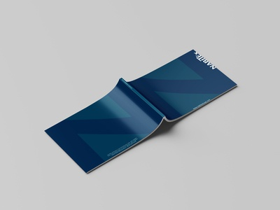Perfect Binding Brochure | NabiTex brand identity nabitex brochure design design illustrator identity branding