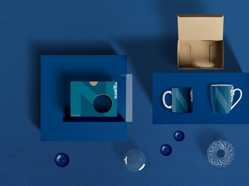 Mug Design | NabiTex branding identity mug design photoshop identity design branding
