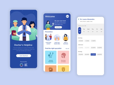 Appointment Booking covid-19 user experience uiux appointments doctor app consultation med-tech medical app appointment minimal appointment booking illustration ux design interaction design