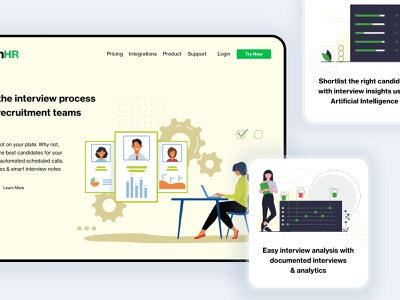AI Product Website demo page pricing website saas recruitment uiux machine learning ai artificial intelligence landing page saas landing page saas website infographic interaction design illustration features page product features