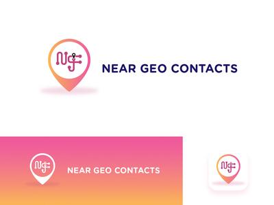 Near Geo Contacts | Logo Design