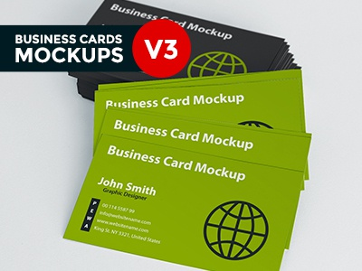Business Card Mockup V3 business card business card mockup business card realistic mockup depth of field mockup perspective photo-realistic presentation free business card mockup mockups