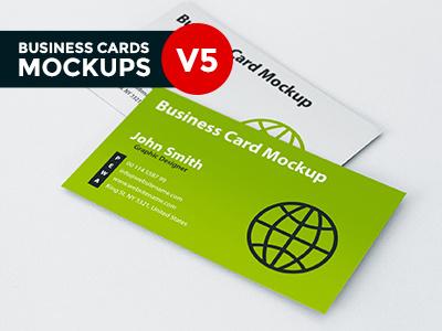 Business Card Mockup V5 business card business card mockup business card realistic mockup depth of field mockup perspective photo-realistic presentation free business card mockup mockups