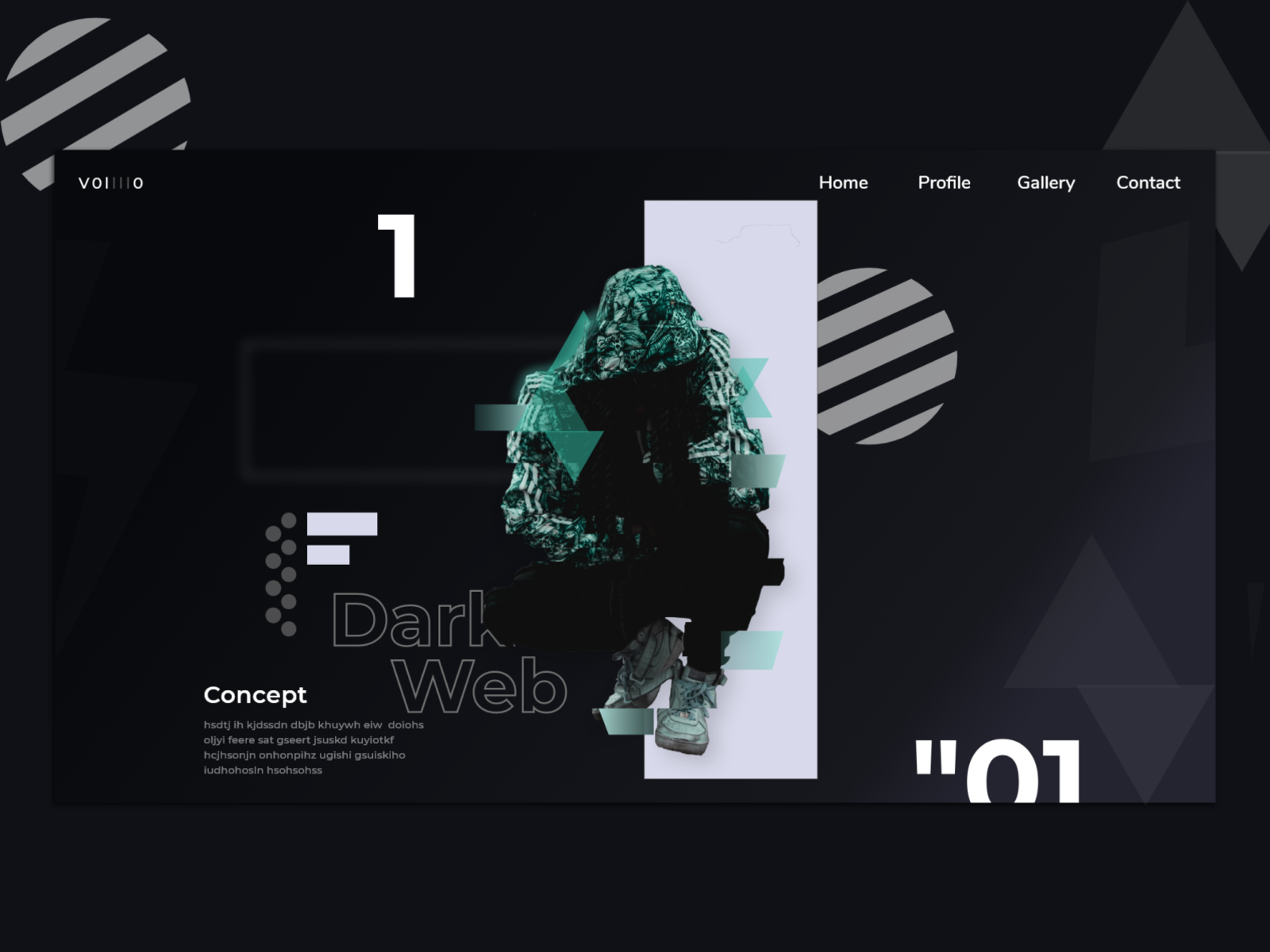 Dribbble Dark Web Png By Godwin Isong