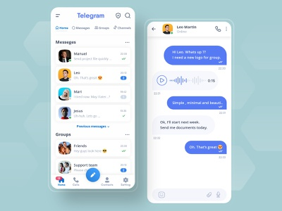Telegram Messenger (Free Download) application mobil chat viber whatsapp messenger telegram