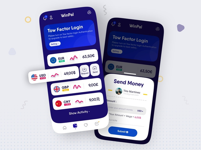 Currency App Design money app currency app currencies iconly ui design ui  ux branding product design web design mobile currency converter currency exchange usd europe money currency