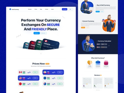 Currency & crypto web design bank financial finance ui iran usa canada exchange price character crypto web ui web design design web creative credit card card money currency