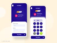 7Pay app ui design