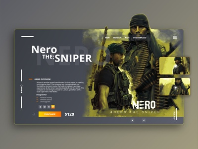 Game Launch web page application crative ux stream green ubisoft project graphic design art nero sri lanka gaming launch design web landing page game ui