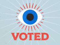 Eye voted.