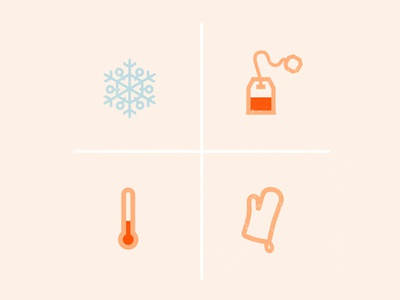 Warm & Cool Icons