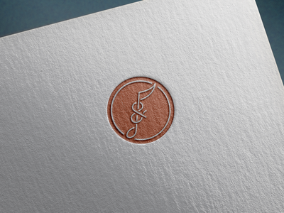 Unchosen logo for Souls + Strings instrument strings souls ampersand music note music icon logo