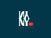 Brand Identity Logo Concept - Nova Yoga #YogaStudio