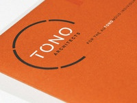 TONO Architects Stationery