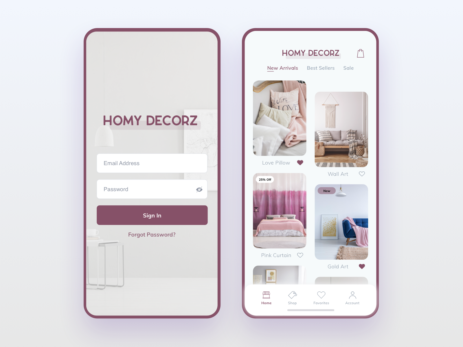 Home Decor Ecommerce App Design By Raydezyn On Dribbble