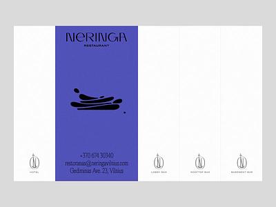 Neringa - Coming Soon Web Design & Development neringa ui illustration outer studio studio page coming soon landing page live interactive bar restaurant hotel web design website web minimal design typography outer