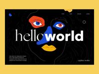 Hello World Agency Portfolio Website
