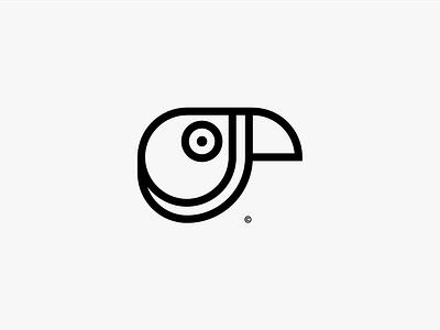 High Dive Logo minimal solid mark outline animal logo animal vector illustration icon logo identity branding design