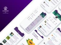 Cookos App Design