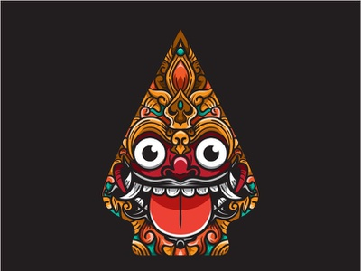 Barong, Indonesian culture indonesian bali barong vectors vectorart vector illustration character puppet design art designs designer culture identity illustrator branding logo vector design illustration animation