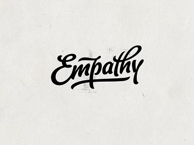 Empathy sketch empathy calligraphy typeface logo brush branding script grunge lettering
