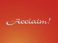 Acclaim!