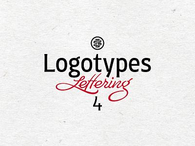 Logotype & lettering // part 4 logo wordmark letters design calligraphy type script brush lettering branding